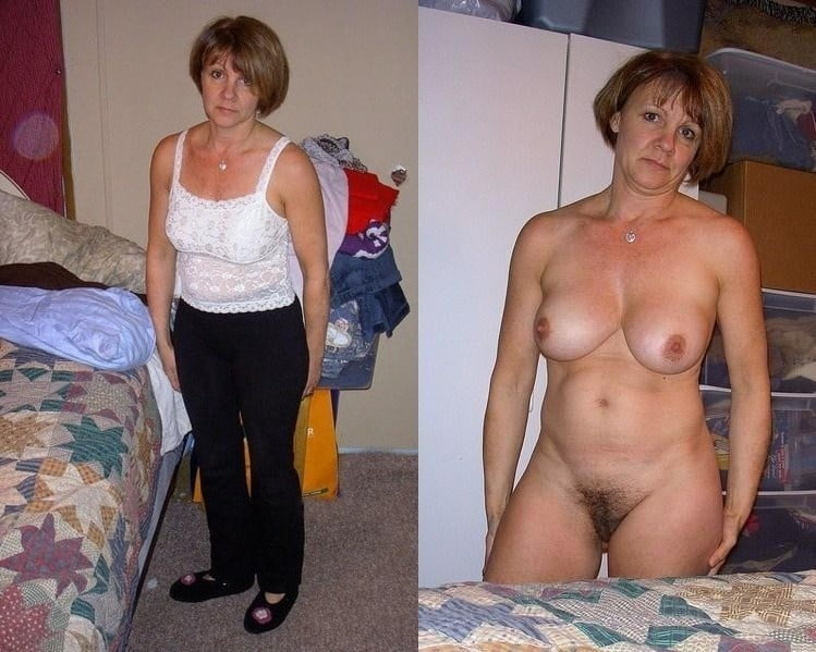 Hot milf flashes her natural tits and facial
