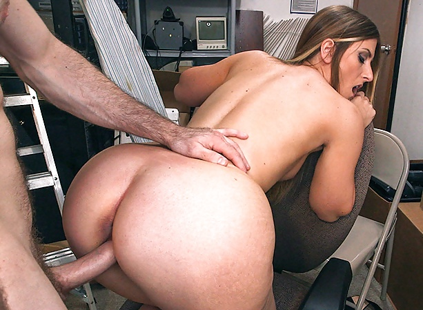 Busty milf at work-4709