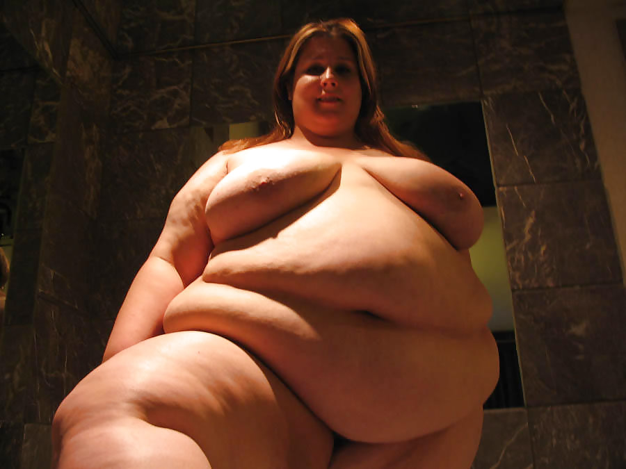 Mature big belly woman