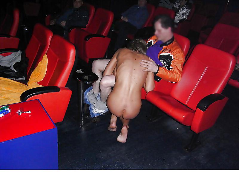 Theater naturist nude