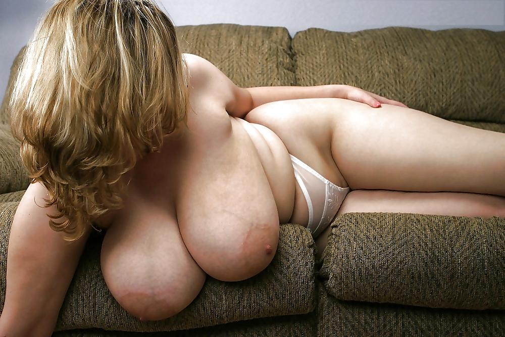 Толстая баба с огромными сиськами
