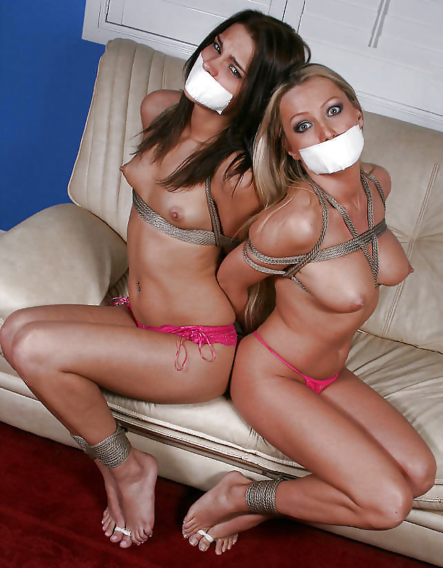 Girl tied up naked gagged