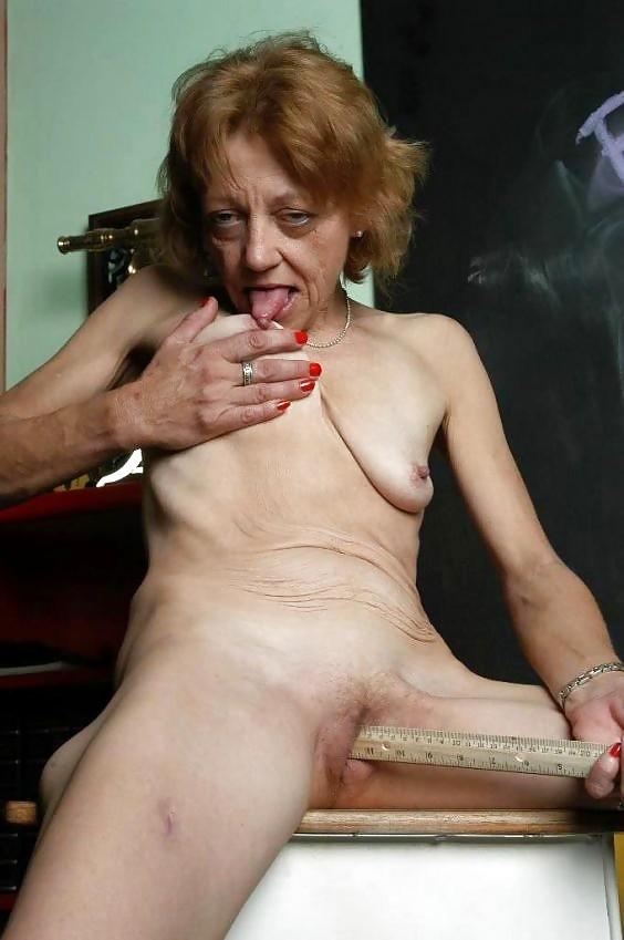 skinny-granny-masterbating