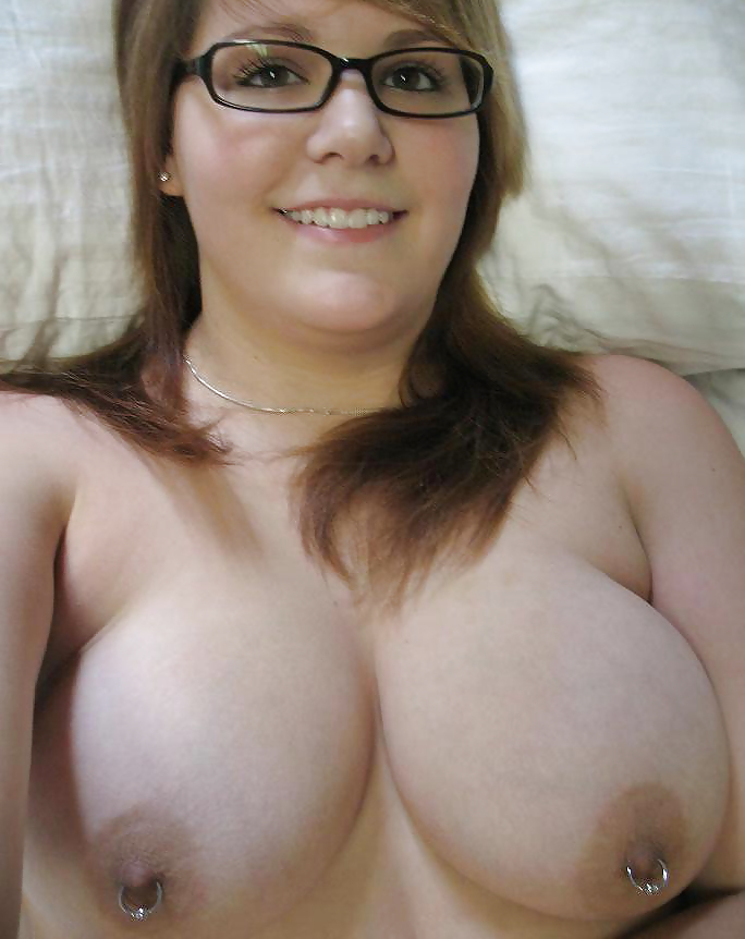 pierced Females nipples with