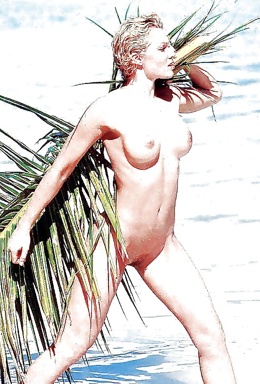English Glamour Model Nell Mcandrew Nude Photoshoot In Barbados