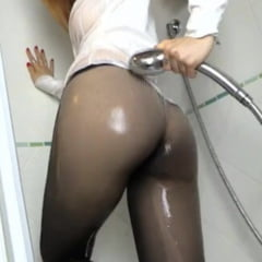 Wet Pantyhose And Stockings