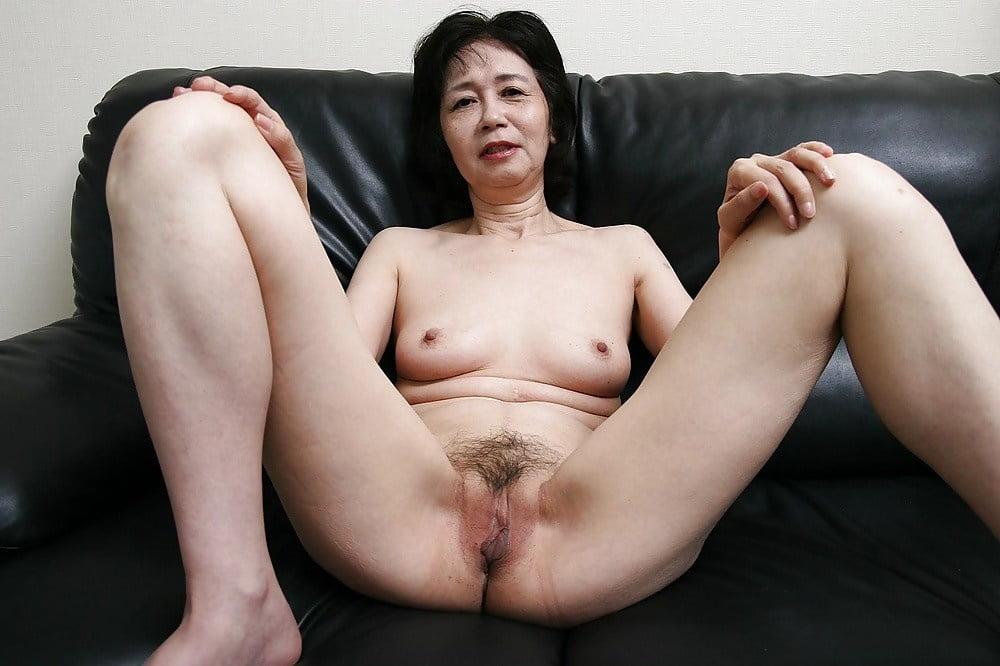 Asian granny receives a good fucking