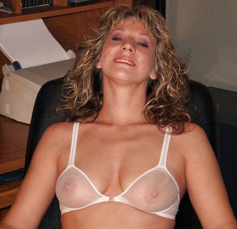 Alyssa lynch boobs in totally transparent bra
