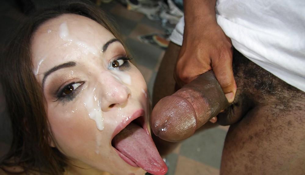 Young black facial monster lady sex garter