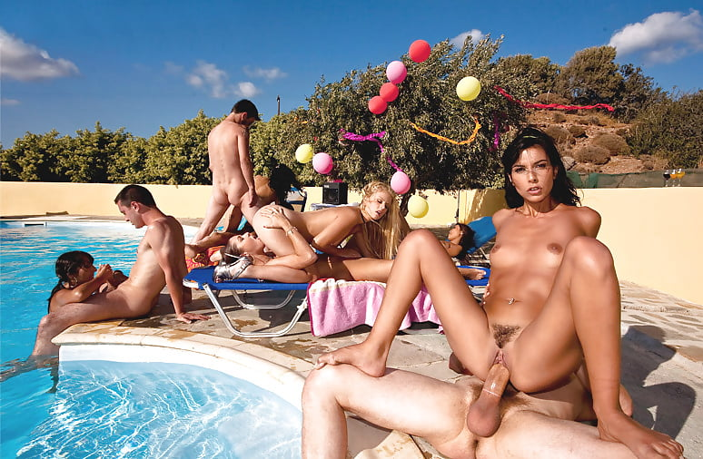 Best Pool Orgy Clips