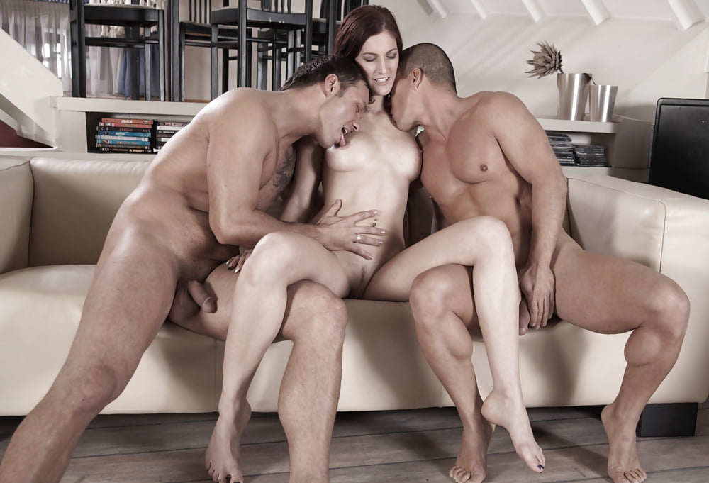 Mechanic threesome sex video — photo 1