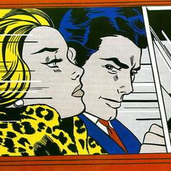 drawn ero and porn art    roy lichtenstein for treaploc