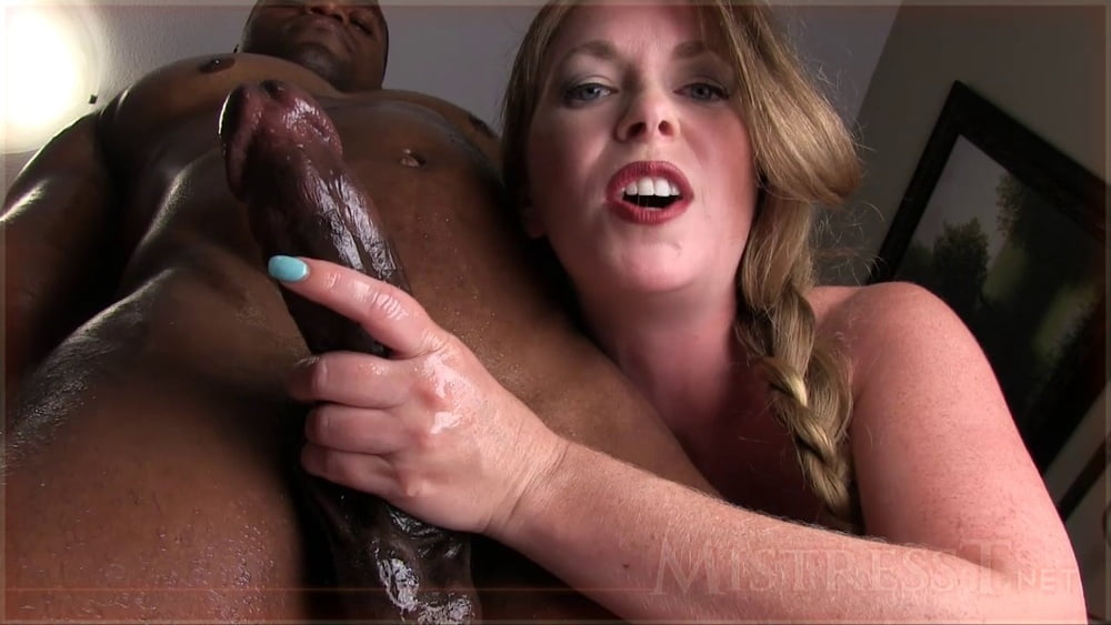 sexy-black-chick-handjob