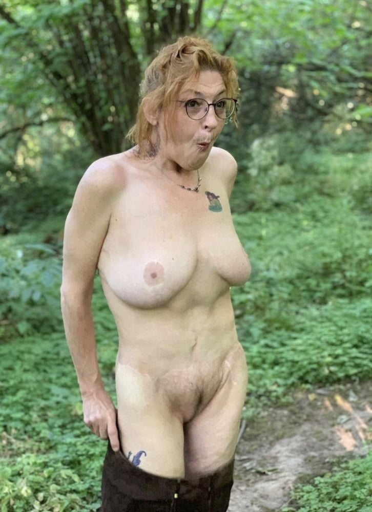 60 year old granny in the Wilderness - 6 Pics