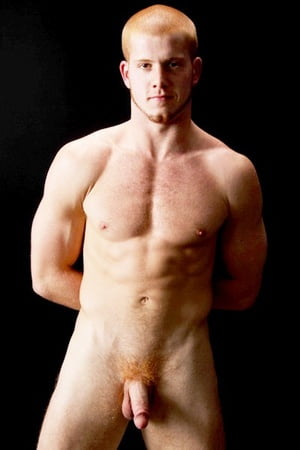 Nude Naked Man Red Head Pic