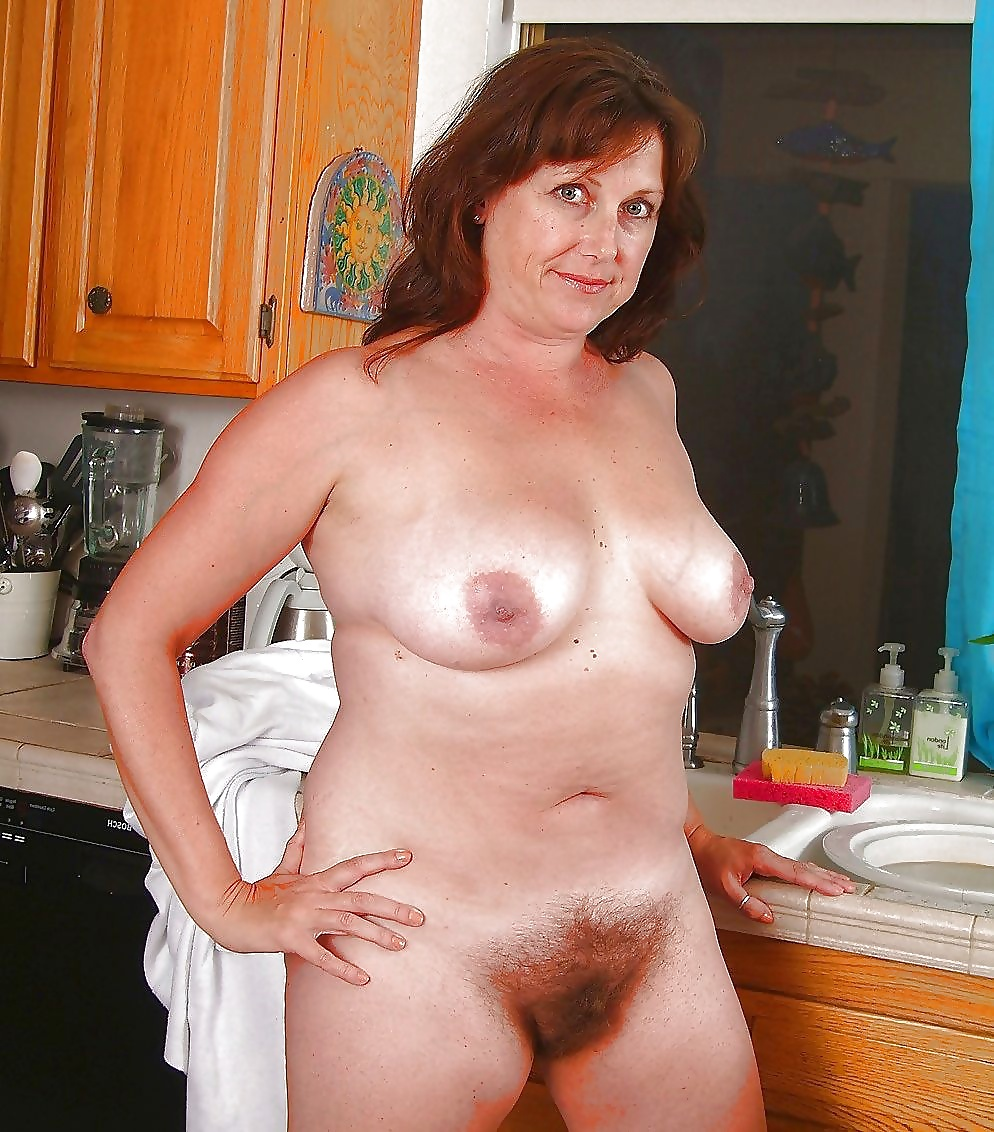 Mature hairy naked ladies