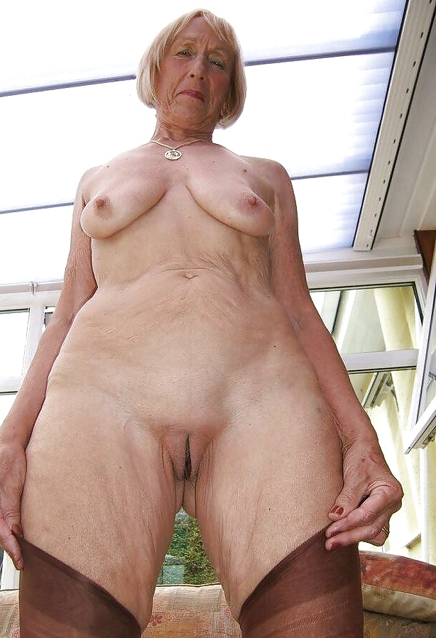 Hot nude older weman