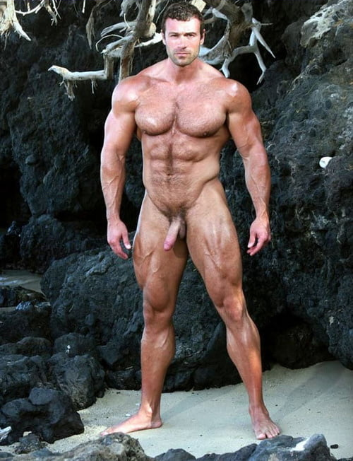Muscle men naked Muscle Cock