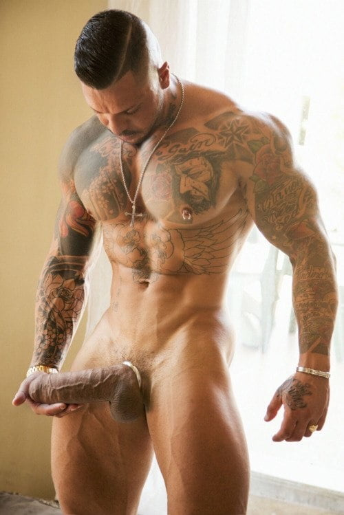 Big dick muscle porn
