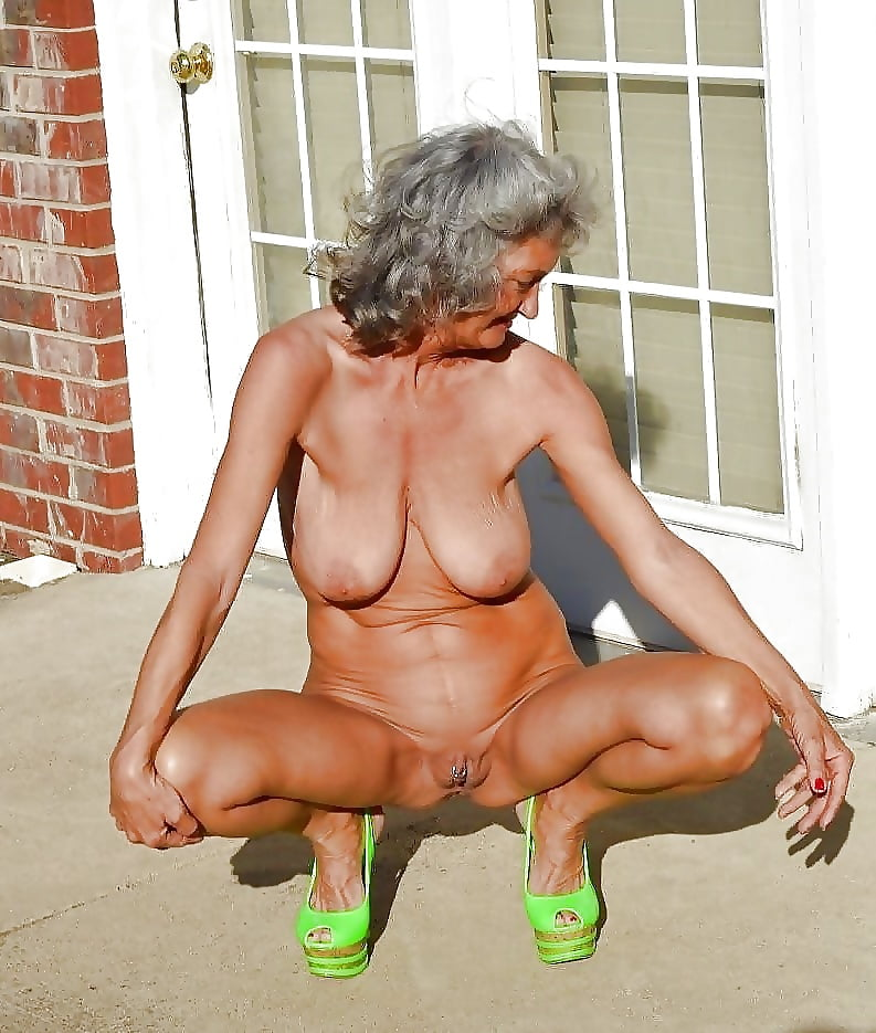 Magnificent hot mature naked bitches