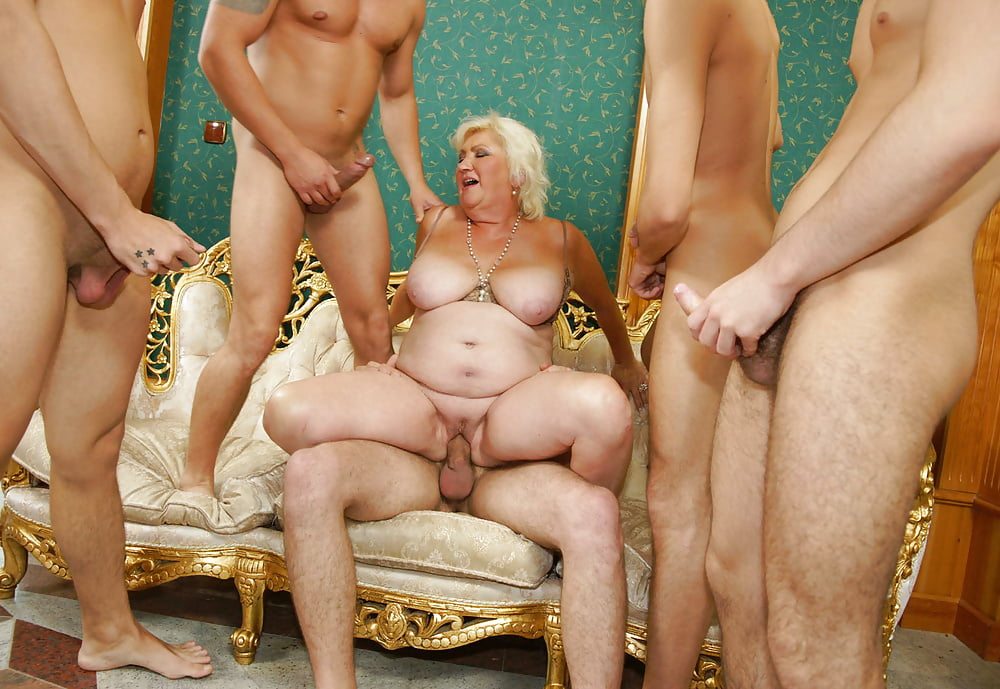 Hot naked girls gang bang