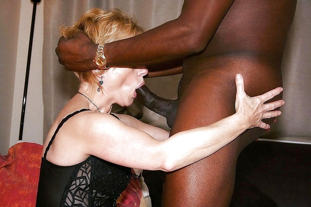 Black man fuck white mature