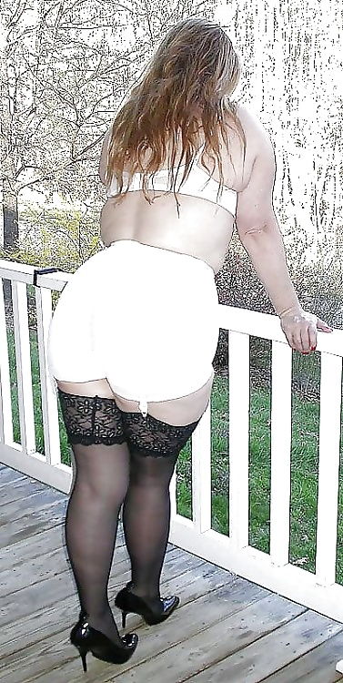 in Busty girdles women