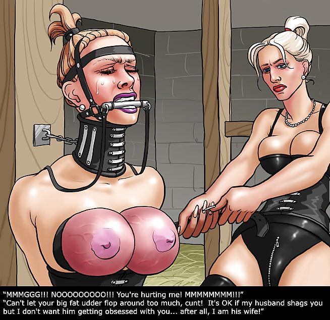 Intruder Bondage Comics