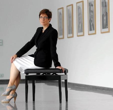 Annette kramp karrenbauer nackt