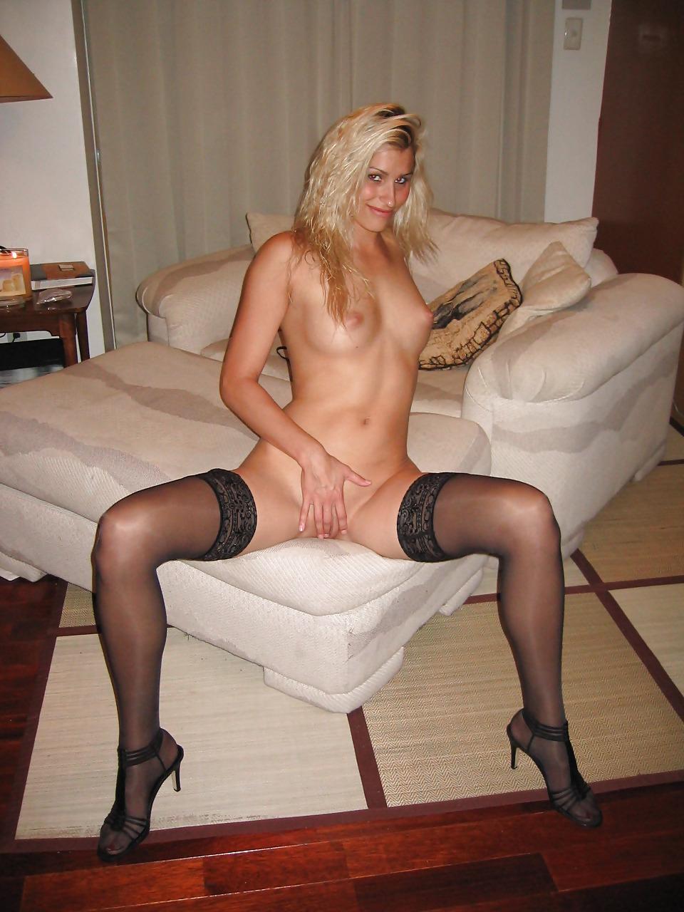 Sunshine pornstar blond amateur stockings sex