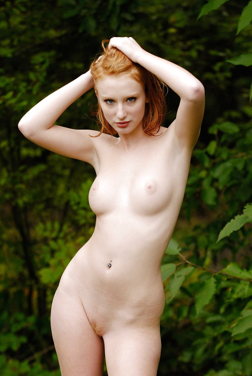 Nude ginger female — photo 6