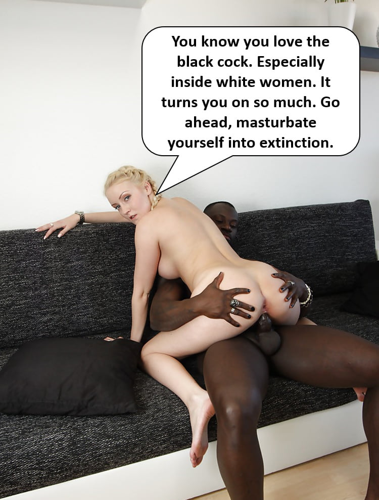 White Girl Worships Black Cock