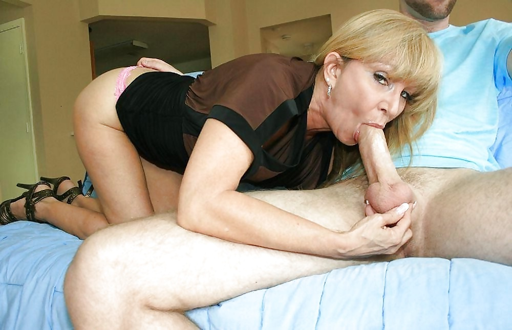 Mother and son bj