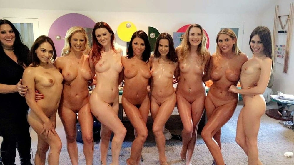 Group naked men women