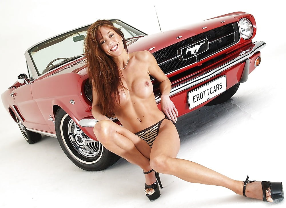 Really Sexy Naked Mustang