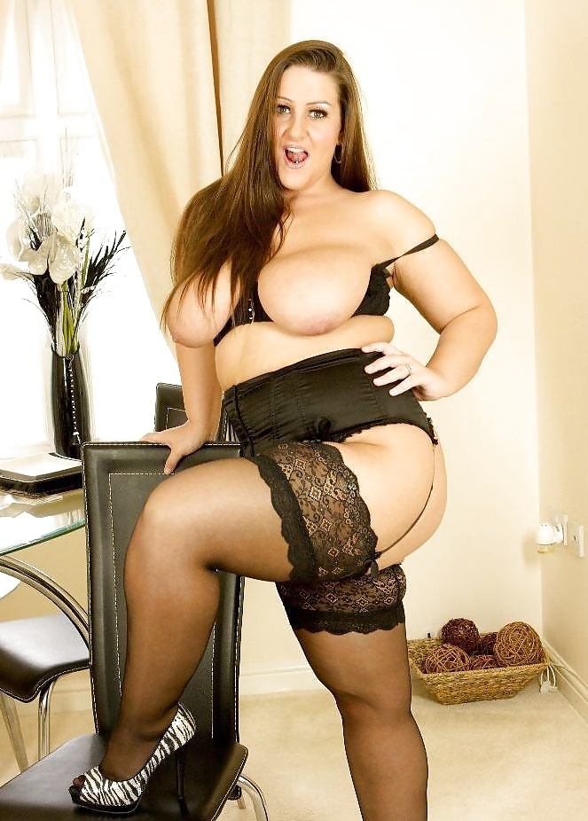 Sexy fat stockings — 6