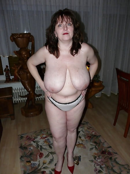 Mature German Big Natural Tits