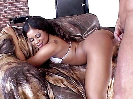 Ebony tits white dick-8851
