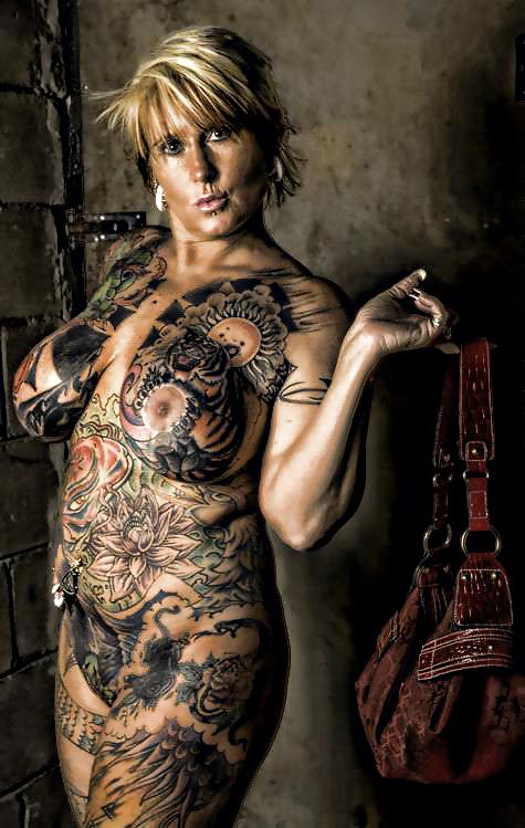 Naked Female Breast Tattoos