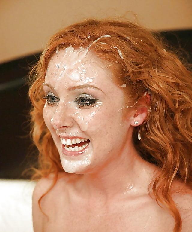 фото рыжих невест полный рот спермы дотрагивался его