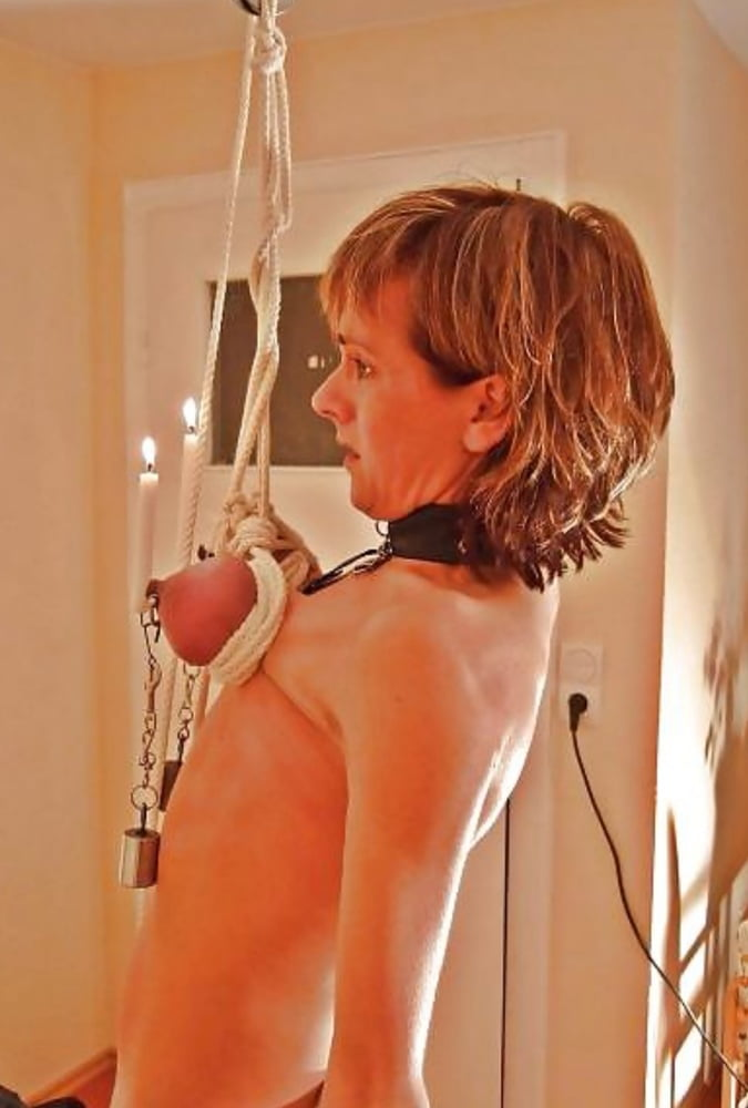 BBW BDSM hanging from the tit's- 29 Pics