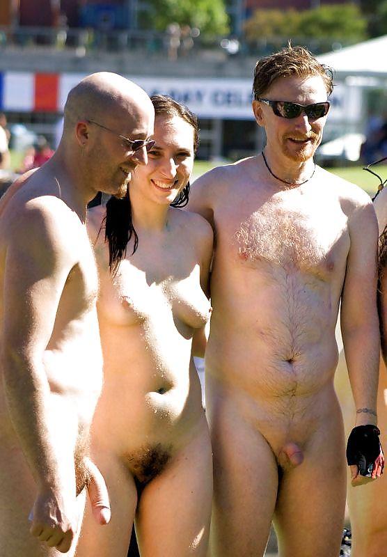 Nude beach group porn