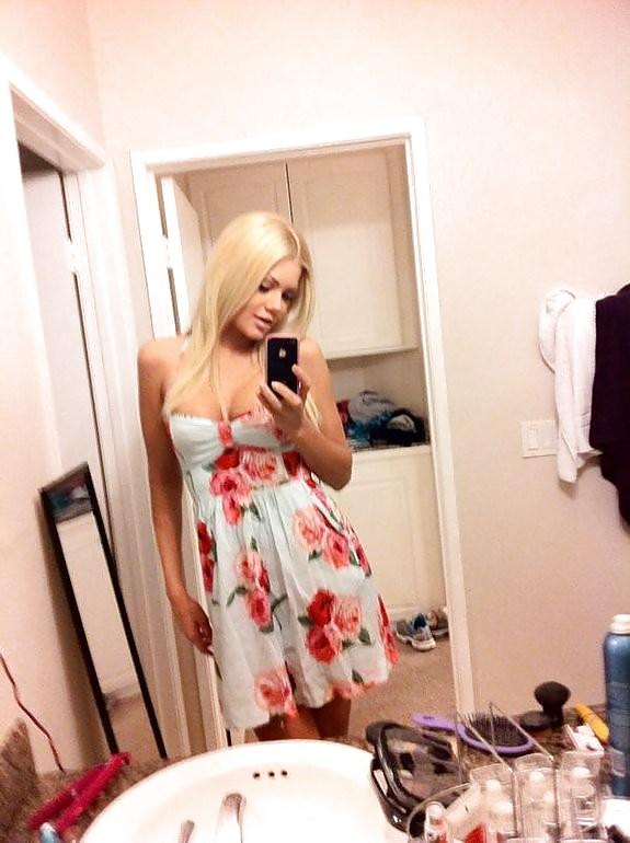 Amature teen blonde