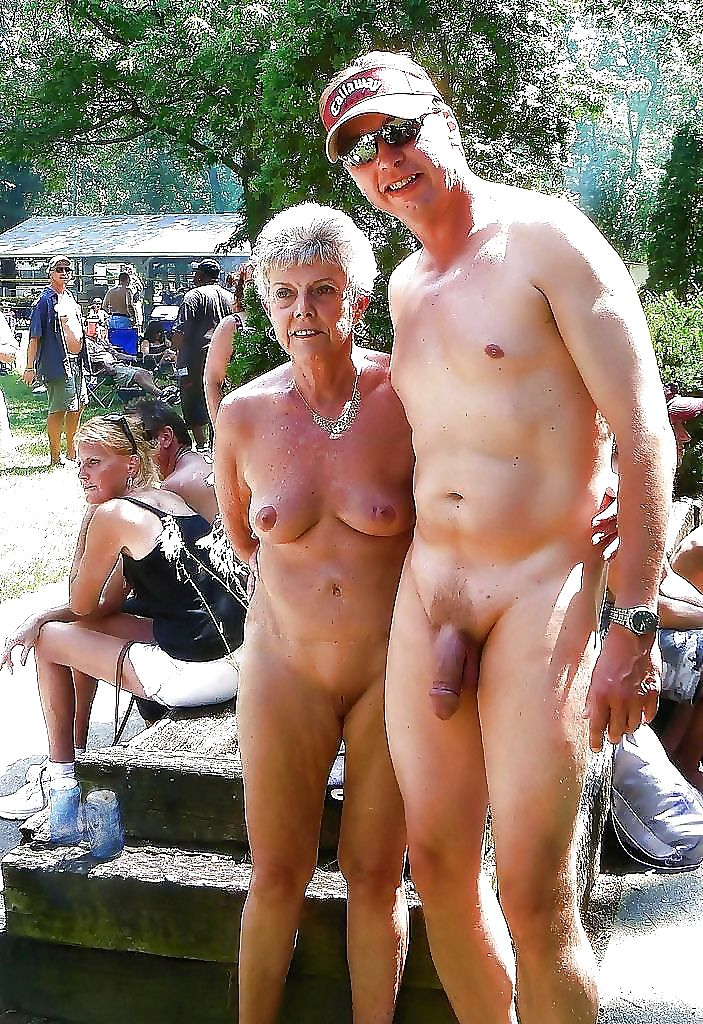 Naked couples in public
