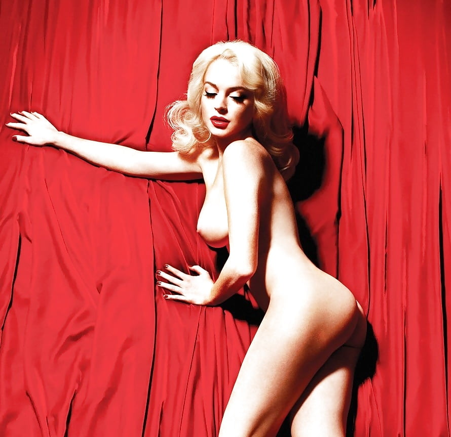 lindsay-lohan-nude-as-marilyn-monroe-chested-tiny-tits