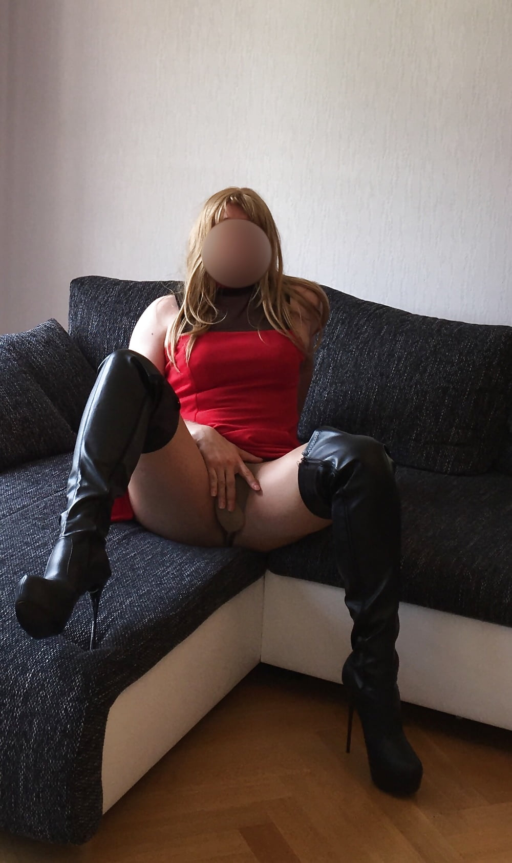 Pawg in thigh highs
