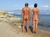 Our nude butts on a nude beach by ahcpl