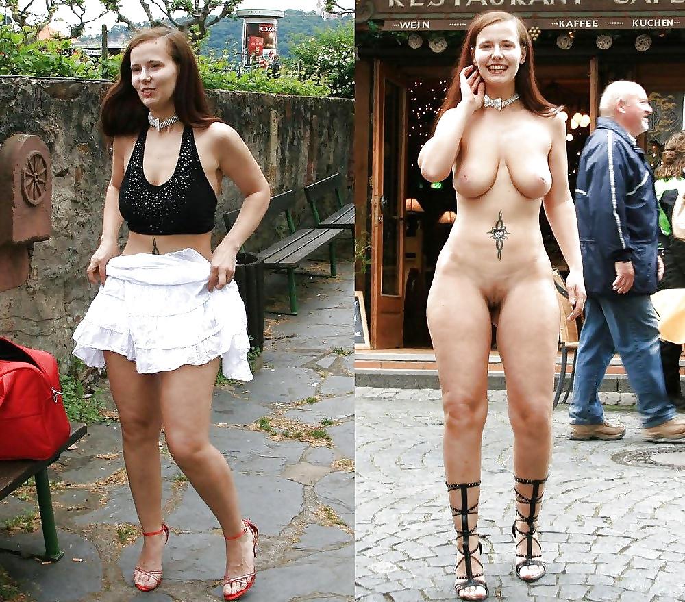 эротика дамы в одежде и без люди представленных