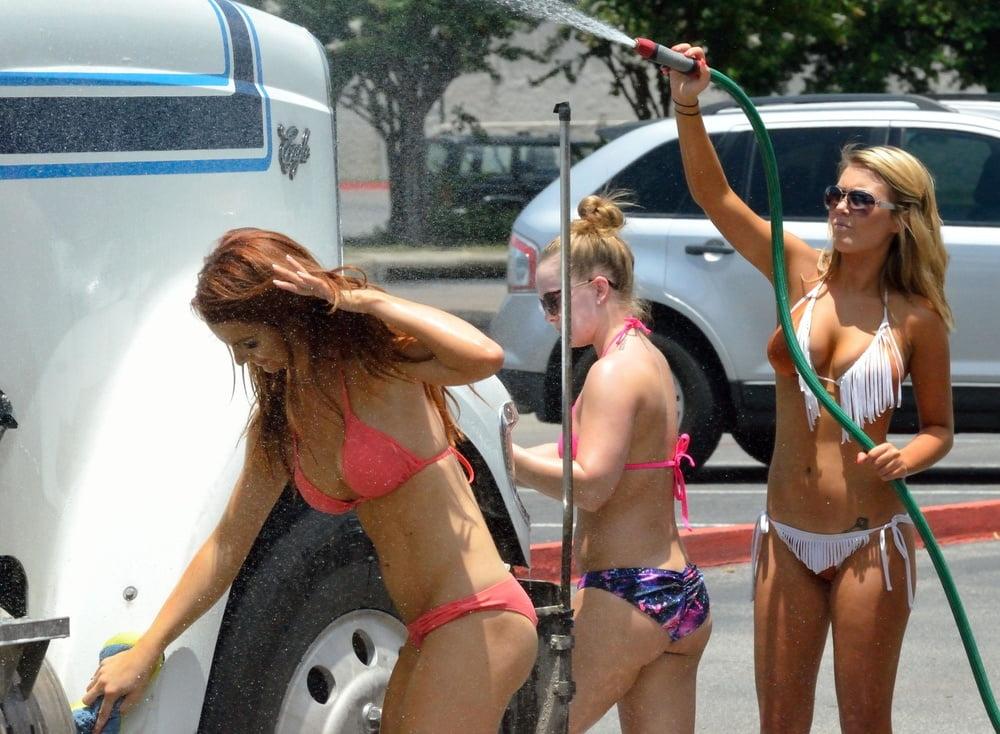 Bikini car wash free clips