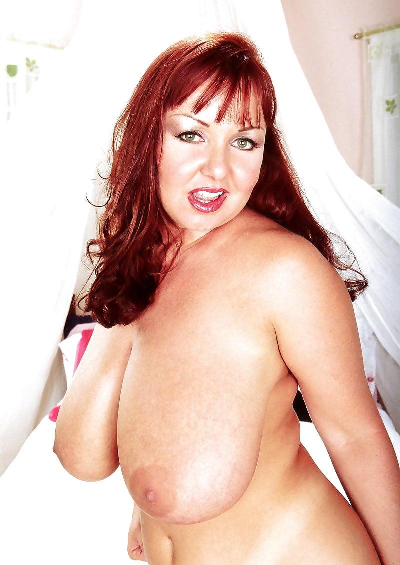 Redhead big boobs nude-6137